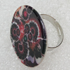 Shell Ring, Flat Round 29mm, Sold by Group