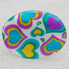 Shell Ring, Flat Oval 34x24mm, Sold by Group