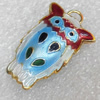 Cloisonne Pendent,18x28mm, Sold by PC