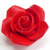 Cinnabar Beads, Flower, 22mm, Hole:Approx 2mm, Sold by PC