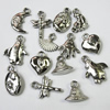 Jewelry findings CCB Plastic Charm Mixed Style 15-20mm, Sold by Bag