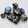 Tibet Resin Beads, Handmade Mix color mix style 15mm-40mm Sold by Group