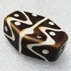 Tibet Resin Beads, Handmade, Polygon 38x28mm Sold by PC