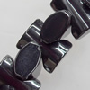 Magnetic Hematite Beads, 9x7mm, Hole:about 0.6mm, Sold per 16-Inch Strand