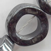 Non-Magnetic Hematite Beads, Donut, 12mm, Hole:about 0.6mm, Sold per 16-Inch Strand