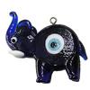 Turkish Handmade Lampwork Glass Evil Eye Pendant, Animal 44x28mm Hole:2mm, Sold by Bag