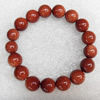 Gold Sand Stone Bracelet, 12mm, Length:Approx 70mm, Sold per 15.7-inch Strand