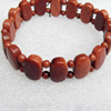 Gold Sand Stone Bracelet, 15x9mm, Length:Approx 70mm, Sold per 15.7-inch Strand