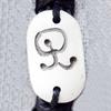 Tibetan Yak Bone Chain Bracelet,18x30mm,Sold by Dozen