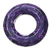 Imitation Wood Acrylic Beads, Donut O:33mm I:15mm, Sold by Bag