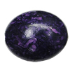 Imitation Wood Acrylic Beads, Flat Oval 24x19mm Hole:2mm, Sold by Bag