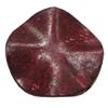 Imitation Wood Acrylic Beads, Twist Flat Round 34mm Hole:2.5mm, Sold by Bag