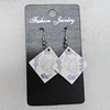 Ceramics Earring, Diamond 32mm, Sold by Group