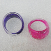 Acrylic Ring, 23x14mm, Sold by Box