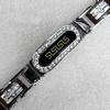 Stainless Steel Bracelet, wideth:16mm, Sold per 7.8-inch Strand
