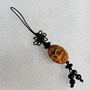 Olive Shell Key Chain, Bead size:23x17mm, Length Approx:10cm, Sold by Strand
