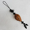 Olive Shell Key Chain, Bead size:29x17mm, Length Approx:10cm, Sold by Strand