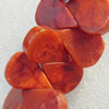 Grass Corals Beads Natural, Teardrop, 15x20mm, Hole:Approx 1mm, Sold by KG