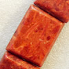 Grass Corals Beads Natural, Rectangle, 30x40mm, Hole:Approx 1mm, Sold by KG