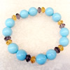 Shell Bracelet, width:12mm, Length Approx:7.1inch, Sold by Strand