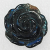 Handmade Lampwork Flower, 31mm Hole:1mm, Sold by PC