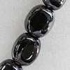Ceramics Beads Plated AB, 20x17mm Hole:3mm, Sold by Bag