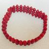 Corals Bracelet, width:12mm, Length:Approx 7.1-inch, Sold by Dozen