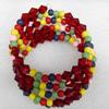 Wooden Bracelet, width:33mm, Length:Approx 7.1-inch, Sold by Dozen