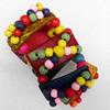 Coconut Shell Bracelet, width:39mm, Length:Approx 7.1-inch, Sold by Dozen