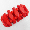 Wooden Bracelet, width:42mm, Length:Approx 7.1-inch, Sold by Dozen
