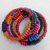 Wooden Bracelet, width:35mm, Length:Approx 7.1-inch, Sold by Strand