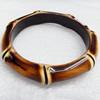 Resin Bracelet, width:12mm, Inner Diameter about:6.7cm, Sold by Dozen