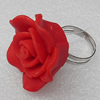 Fimo Rings, Flower 28mm, Sold by Group
