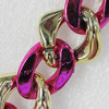 CCB Jewelry Chains, Link's Size:24x8mm-24x17x5mm, Sold by Meter
