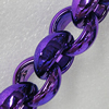 CCB Jewelry Chains, Link's Size:20x18x9mm, Sold by Meter