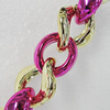 CCB Jewelry Chains, Link's Size:24x8mm-20x18mm, Sold by Meter