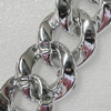 CCB Jewelry Chains, Link's Size:33x30x9mm, Sold by Meter