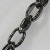 CCB Jewelry Chains, Link's Size:31x20x12mm, Sold by Meter