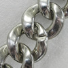 CCB Jewelry Chains, Link's Size:30x33x9mm, Sold by Meter