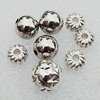 Jewelry Findings CCB Plastic Beads Silver Color, Mix Style, 8mm-1mm, Sold by Bag