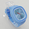 Silicon Rubber Fashionable Watch, Watch:about 45mm, Sold by PC
