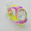 Silicon Rubber Fashionable Watch, Watch:about 42mm, Sold by PC