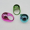 CCB Rings, Mix Color, Round 23mm, Sold by Box