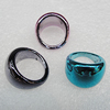 CCB Rings, Mix Color, 20x14mm, Sold by Box