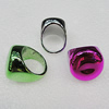 CCB Rings, Mix Color, Flat Round 22mm, Sold by Box