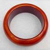 Imitate Amber Bracelet, width:30mm, Inner diameter:65mm, Sold by PC