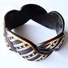 Resin Bracelet, width:37mm, Inner Diameter about:6.8cm, Sold by PC