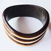 Resin Bracelet, width:30mm, Inner Diameter about:6.8cm, Sold by PC