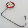 Zinc Alloy Purse Hanger, Lead-free, 37mm, Sold by PC