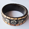 Resin Bracelet, width:29mm, Inner Diameter about:6.8cm, Sold by PC